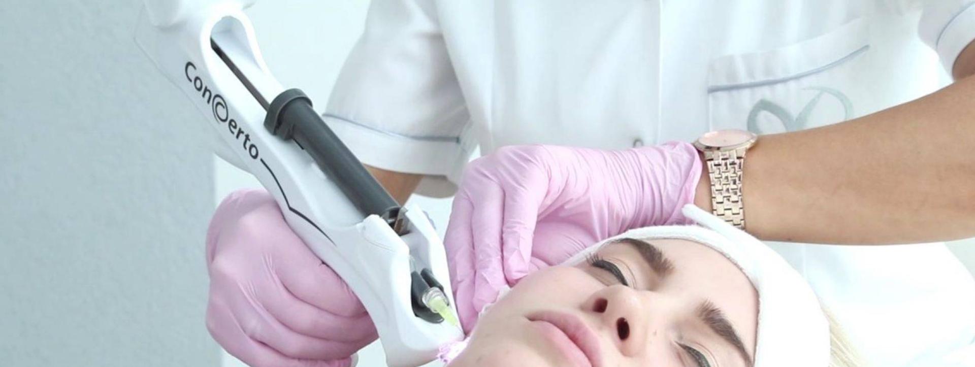 Carboxy therapie behandeling voor de ogen